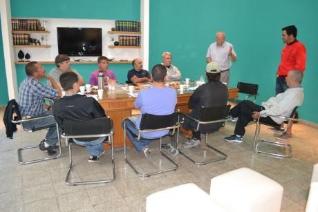 Tres Lomas - Reunión de directores de deportes