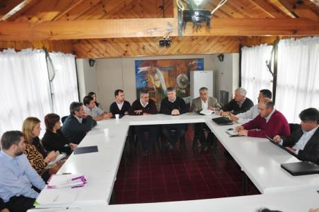 Trenque Lauquen - Reunión con el Grupo Bapro