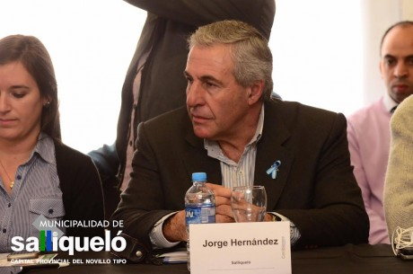 Salliqueló - Hernández, Jorge (Intendente Municipal)