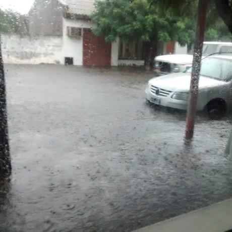 30 de Agosto - inundación