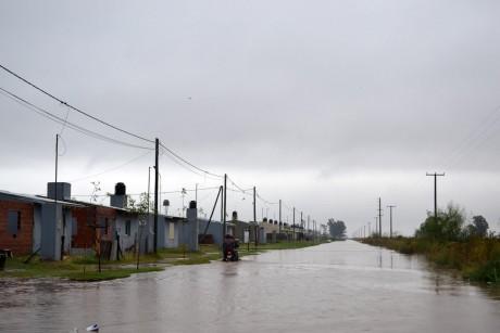 General Villegas - Inundación
