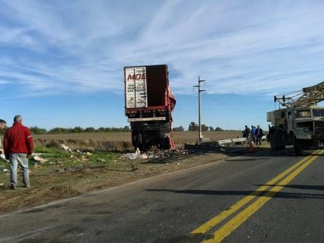 Ruta 5 - Accidente - Kilómetro 422,900