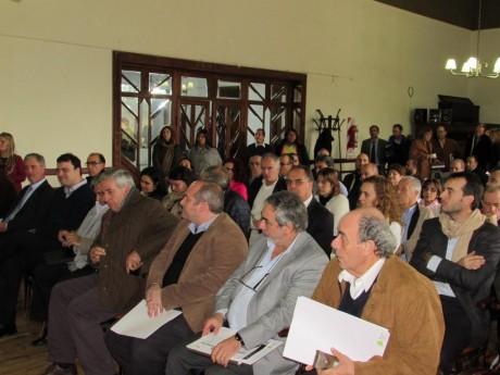Trenque Lauquen - Fernández en reunión de Salud