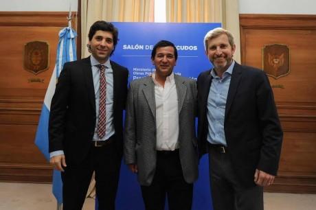 Pellegrini - Pacheco con Frigerio y García De Luca