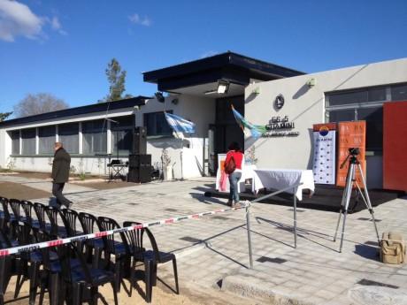 Guaminí - Inauguración Colegio Secundario