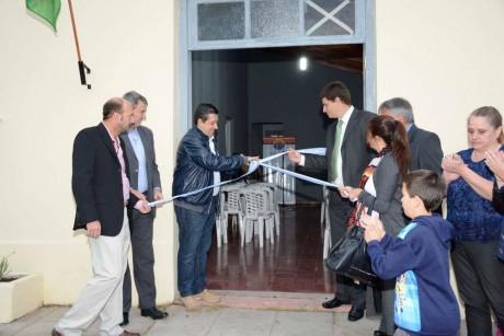 Guaminí - Inauguración Centro Educativo Agrario