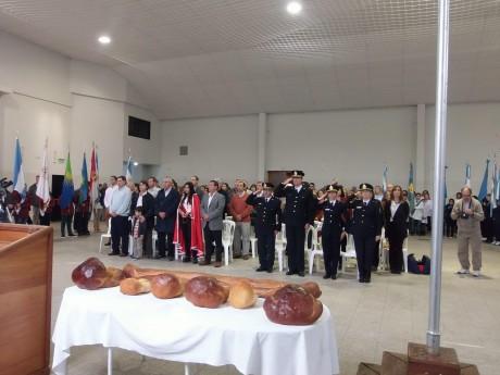 Pellegrini - Acto protocolar del 117 aniversario en Huracán