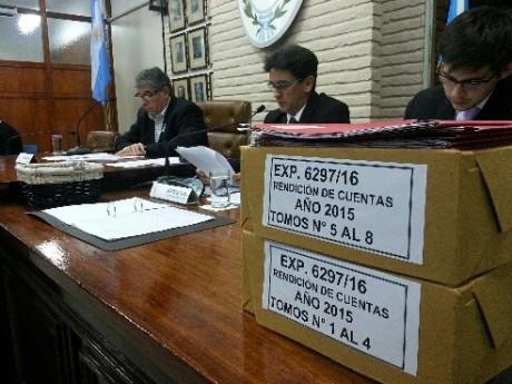 Trenque Lauquen - Concejo Deliberante - Rendición de Cuentas