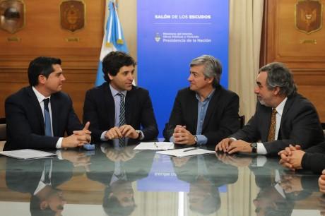 Fernández, Miguel convenio con Nación