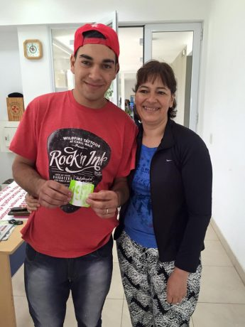 Trenque Lauquen Expo Rural Juan Pablo Ramírez ganador del Etios