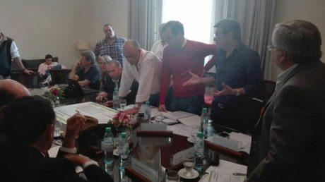Inundaciones reunión de intendentes municipales en General Villegas