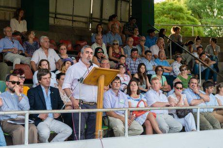Trenque Lauquen acto de inauguración oficial de la Expo 2016