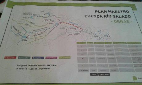 Inundaciones Plan Maestro Río Salado