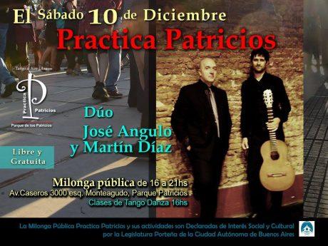 Angulo y Díaz en Buenos Aires
