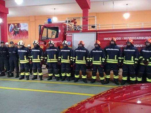 Actos por el día del bombero voluntario