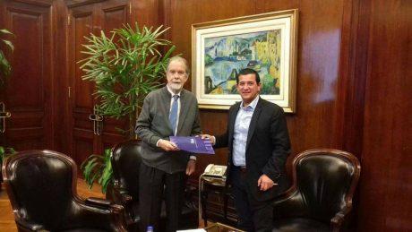 Pacheco con González Fraga