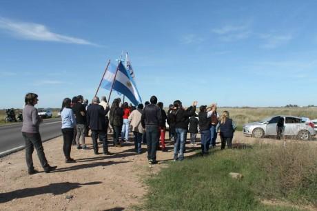 Carlos Tejedor - Vecinos reclaman por la Ruta 70