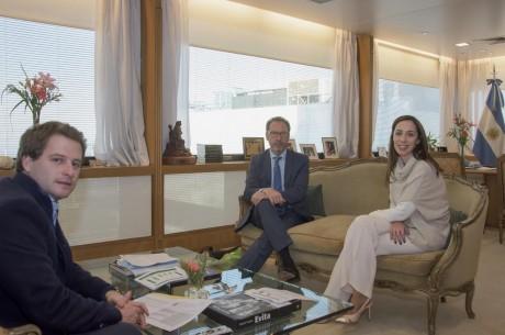 Torchio, Walter con María Eugenia Vidal