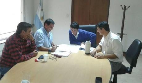 Pellegrini - Pacheco reuniones en La Plata