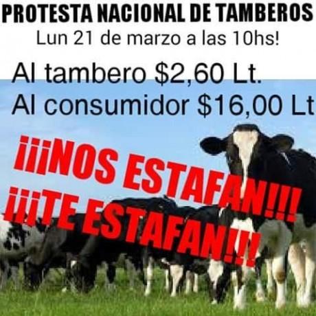 Tamberos - Protesta