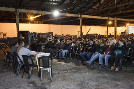 Trenque Lauquen - Fernández con empleados de Higiene Urbana