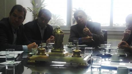 Aranguren reunión con intendentes