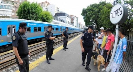 Ferrocarril Sarmiento - Operativos Antidrogas