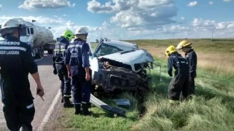 Accidente Ruta 33