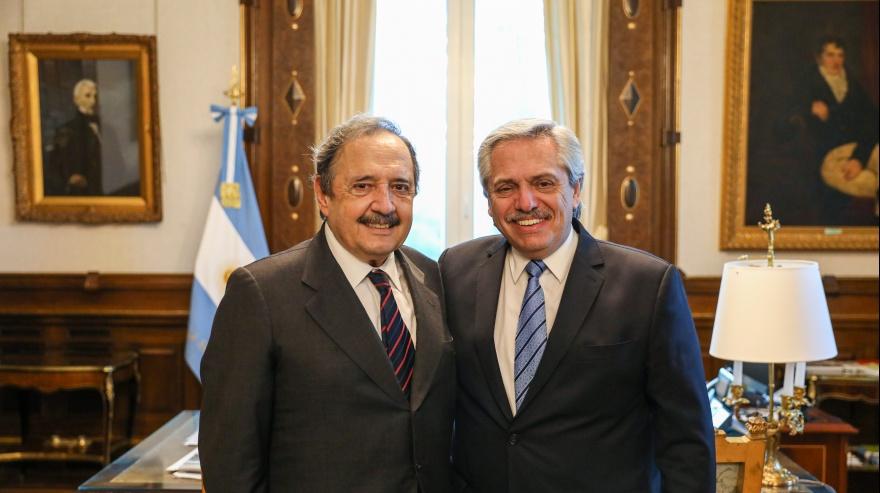 El Presidente recibió al embajador Alfonsín