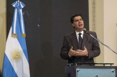 Capitanich, Jorge. Jefe de Gabinete de ministros