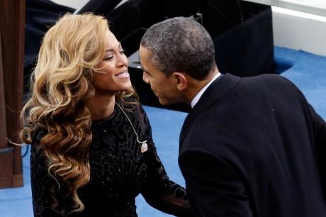 Barack Obama y Beyoncé