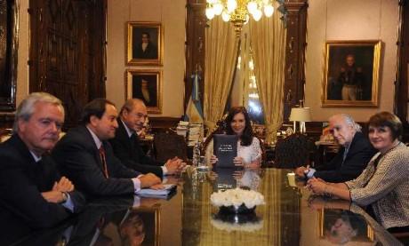 Cristina recibió nuevo Código Penal
