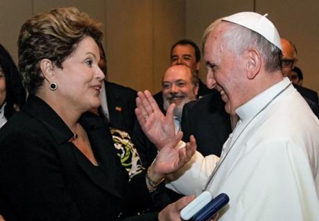 Dilma y Francisco