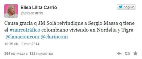 Carrió - Twitter