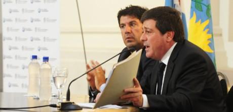 Gabriel Mariotto y Luis Calderaro (archivo)