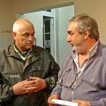 30 de Agosto - Zapata conversa con Fernández