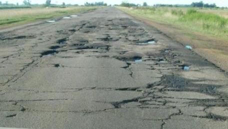 Rutas en mal estado