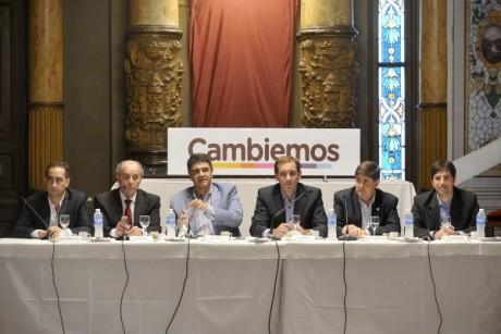 Intendentes de Cambiemos en La Plata