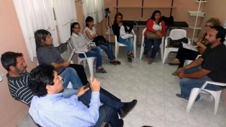 Guaminí - Reunión por el Dengue