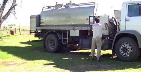 Transportes de leche