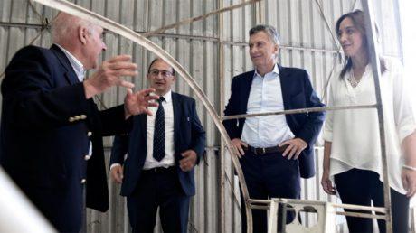 Macri y Vidal en Saladillo