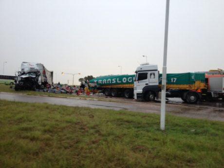Accidente ruta 33 y 60