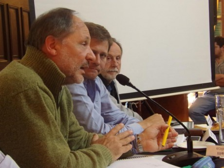 Río Quinto - Reunión en América - Exponen técnicos de Hidráulica