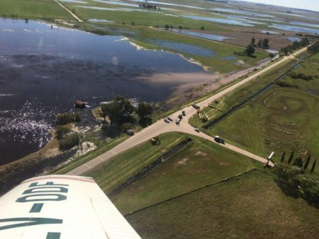 La Pampa inundaciones. Foto: infopico.com