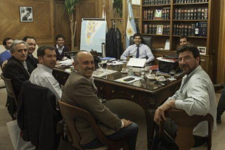 Guerrera, Alexis en el ministerio del Interior