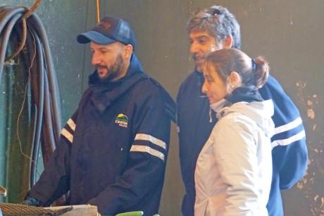 Prolim - visita de técnicos del Ceamse