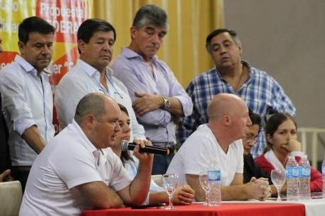 La Pampa - Diputado Aliaga y otros dirigentes de Cambiemos