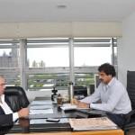 Diputado Sánchez con Leonardo Sarquis