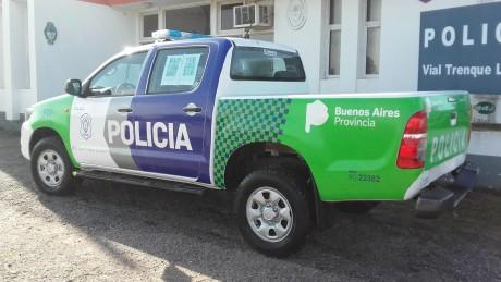 Trenque Lauquen - Móvil Policía Vial