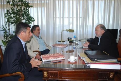 La Pampa - Verna con autoridades del Banco de La Pampa